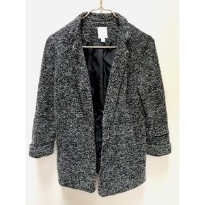 **3 FOR $30** Lauren Conrad Knit Gray Blazer
